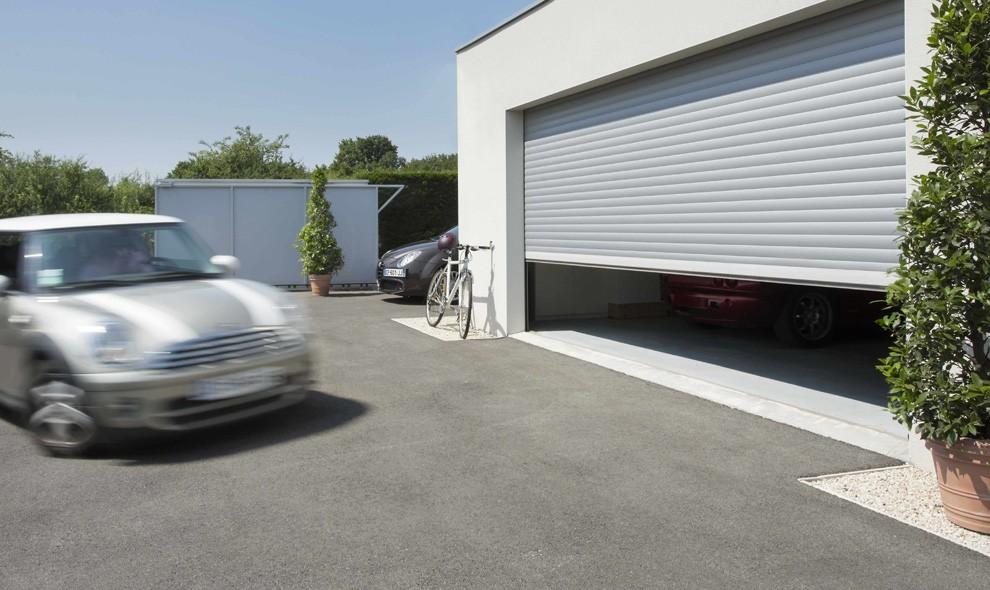 Rolldeur voor garage
